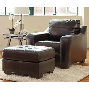 Ashley Coppell DuraBlend® Chair & Ottoman