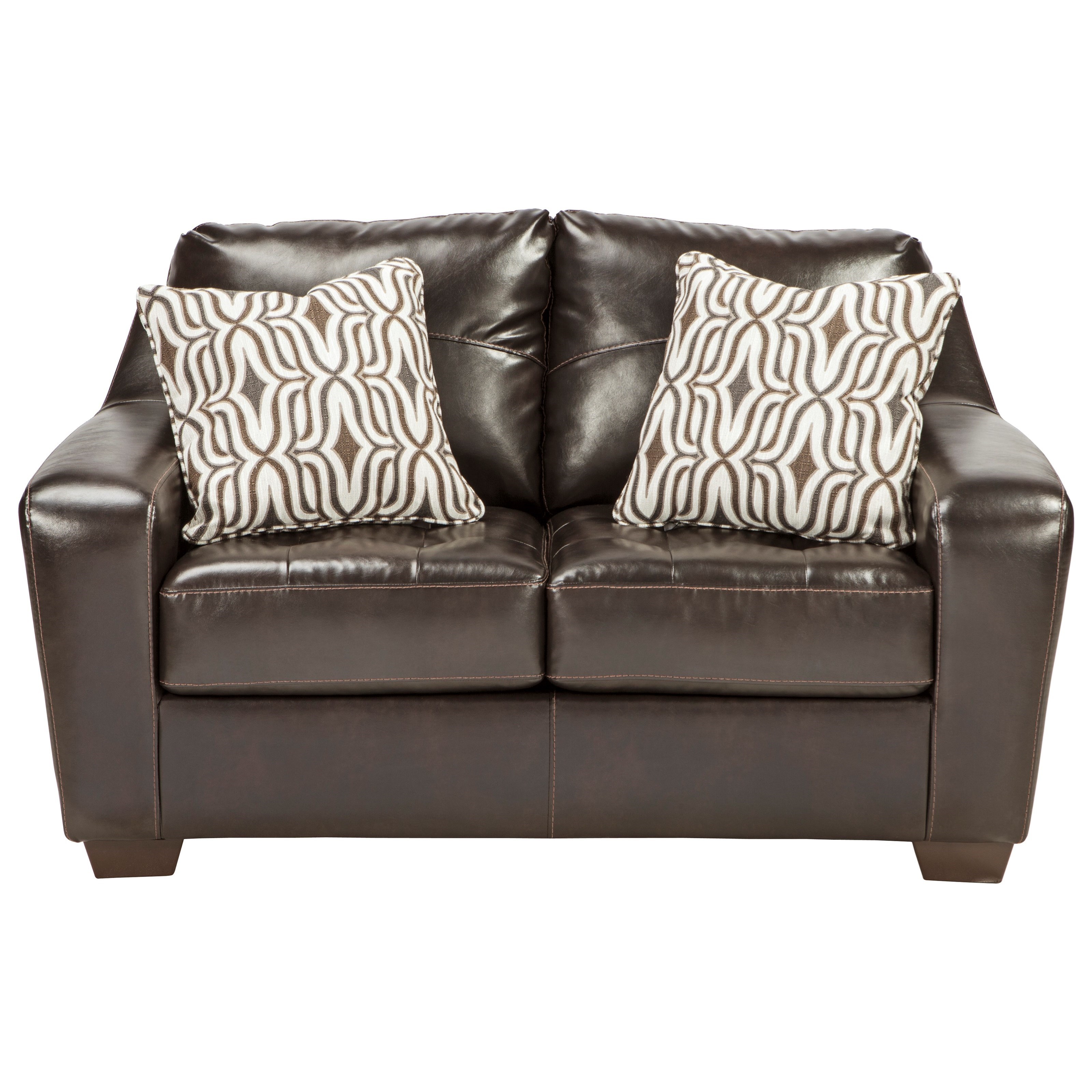 Benchcraft Coppell DuraBlend® Loveseat - Item Number: 5900135