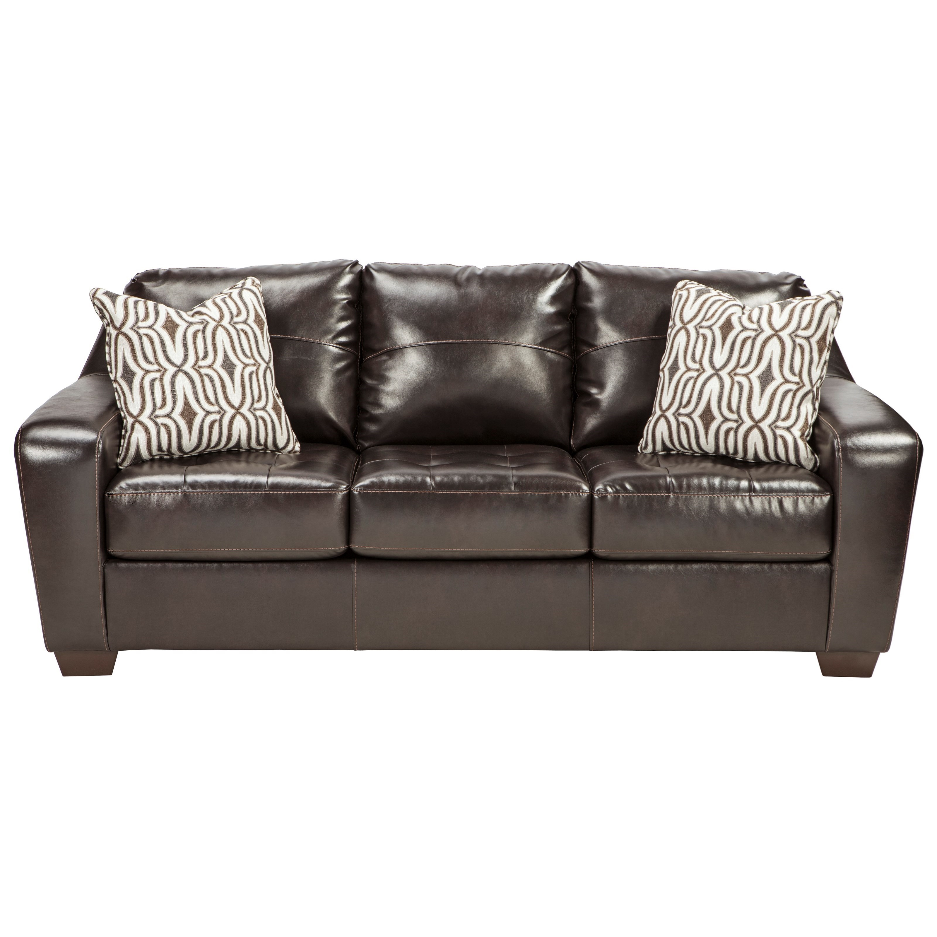 Ashley/Benchcraft Coppell DuraBlend® Queen Sofa Sleeper - Item Number: 5900139