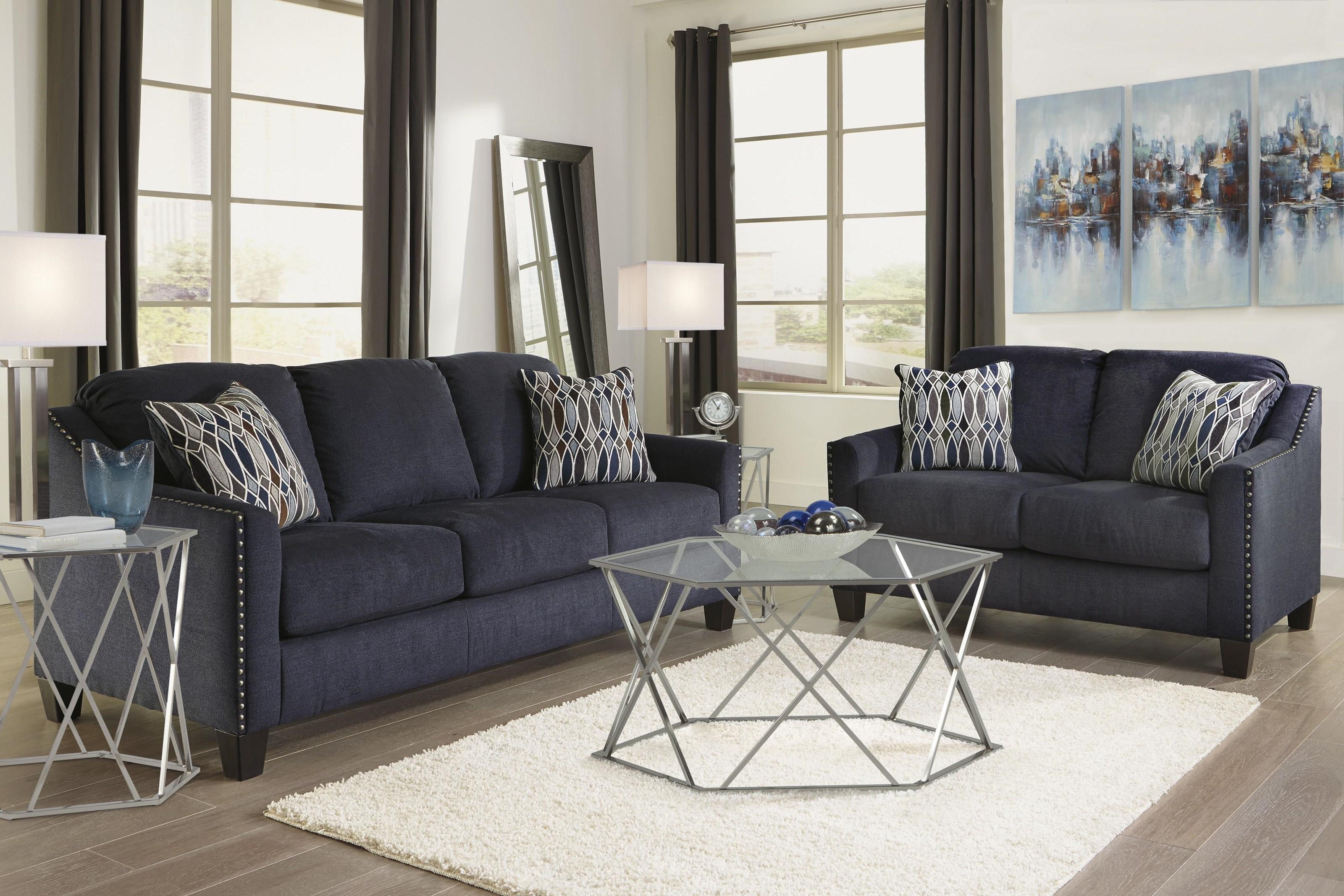 Benchcraft Creeal Heights 8020238 35 20 21 Ink Sofa