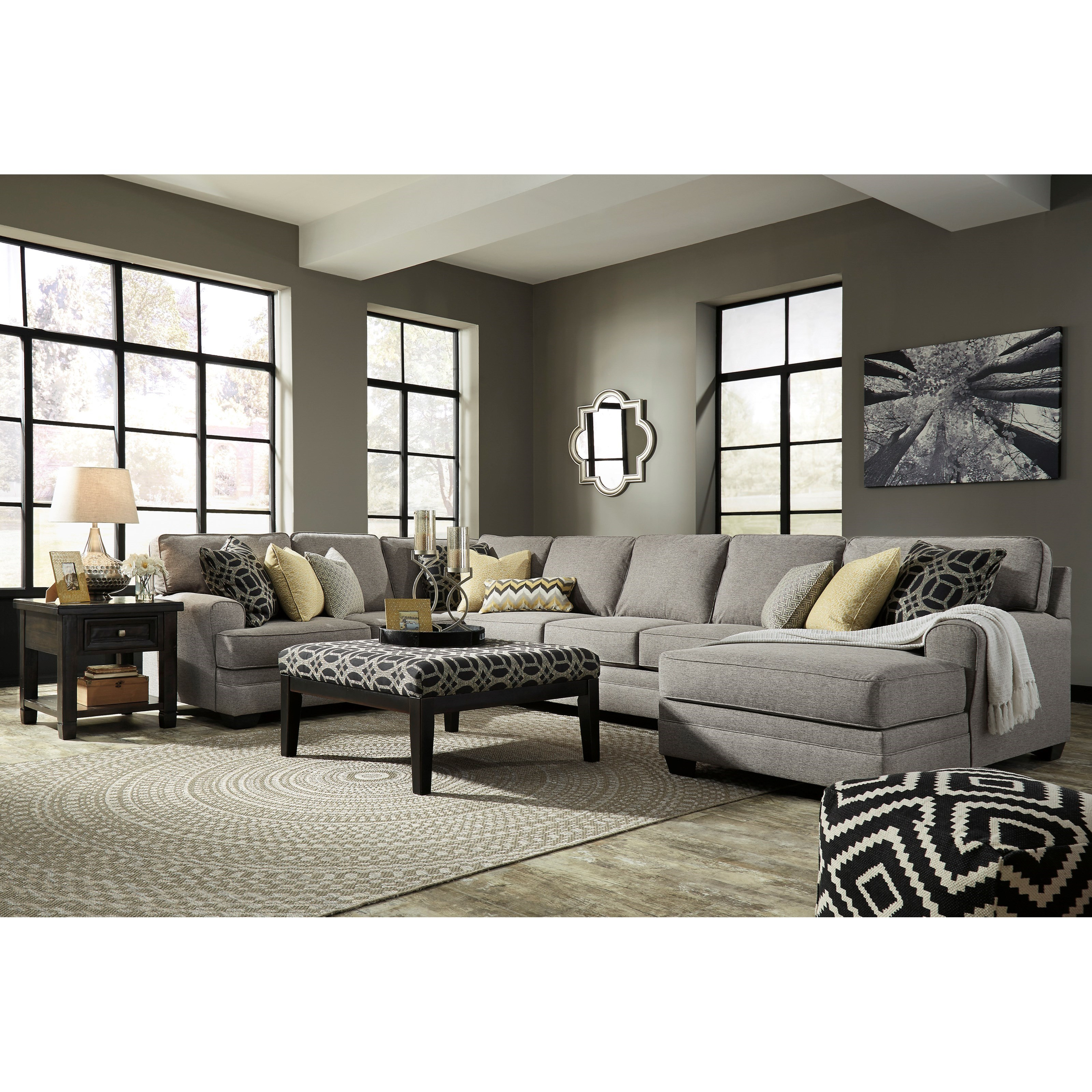 Benchcraft Cresson Stationary Living Room Group - Item Number: 54907 Living Room Group 11
