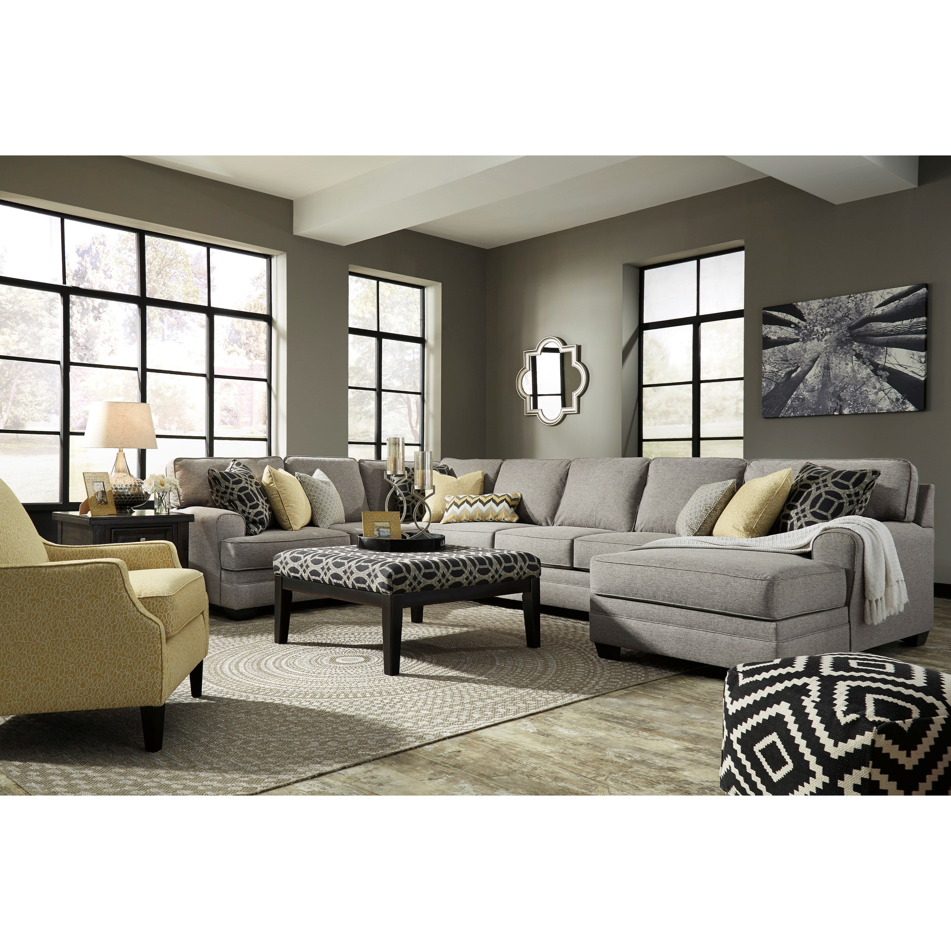Benchcraft Cresson Stationary Living Room Group - Item Number: 54907 Living Room Group 12