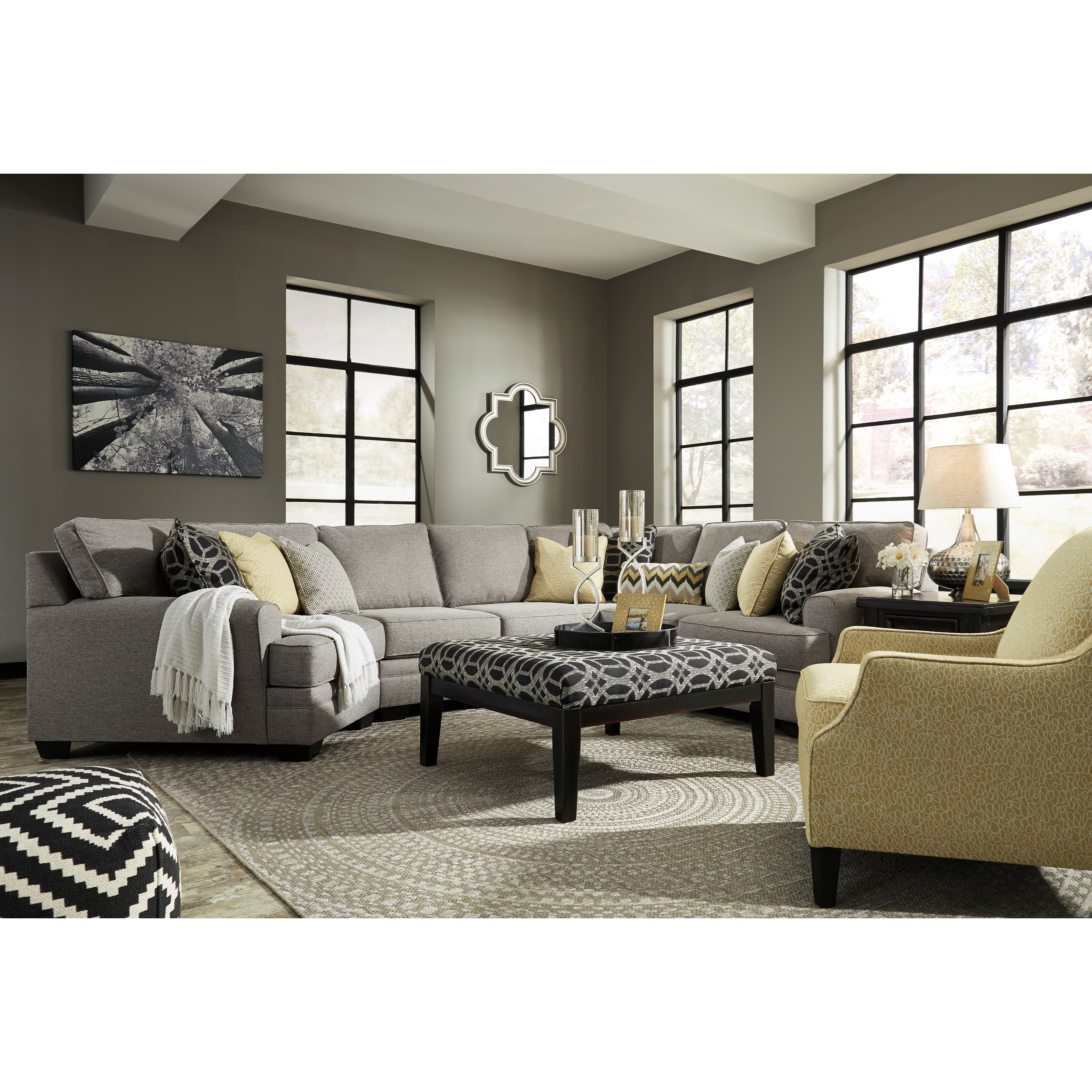 Benchcraft Cresson Stationary Living Room Group - Item Number: 54907 Living Room Group 14