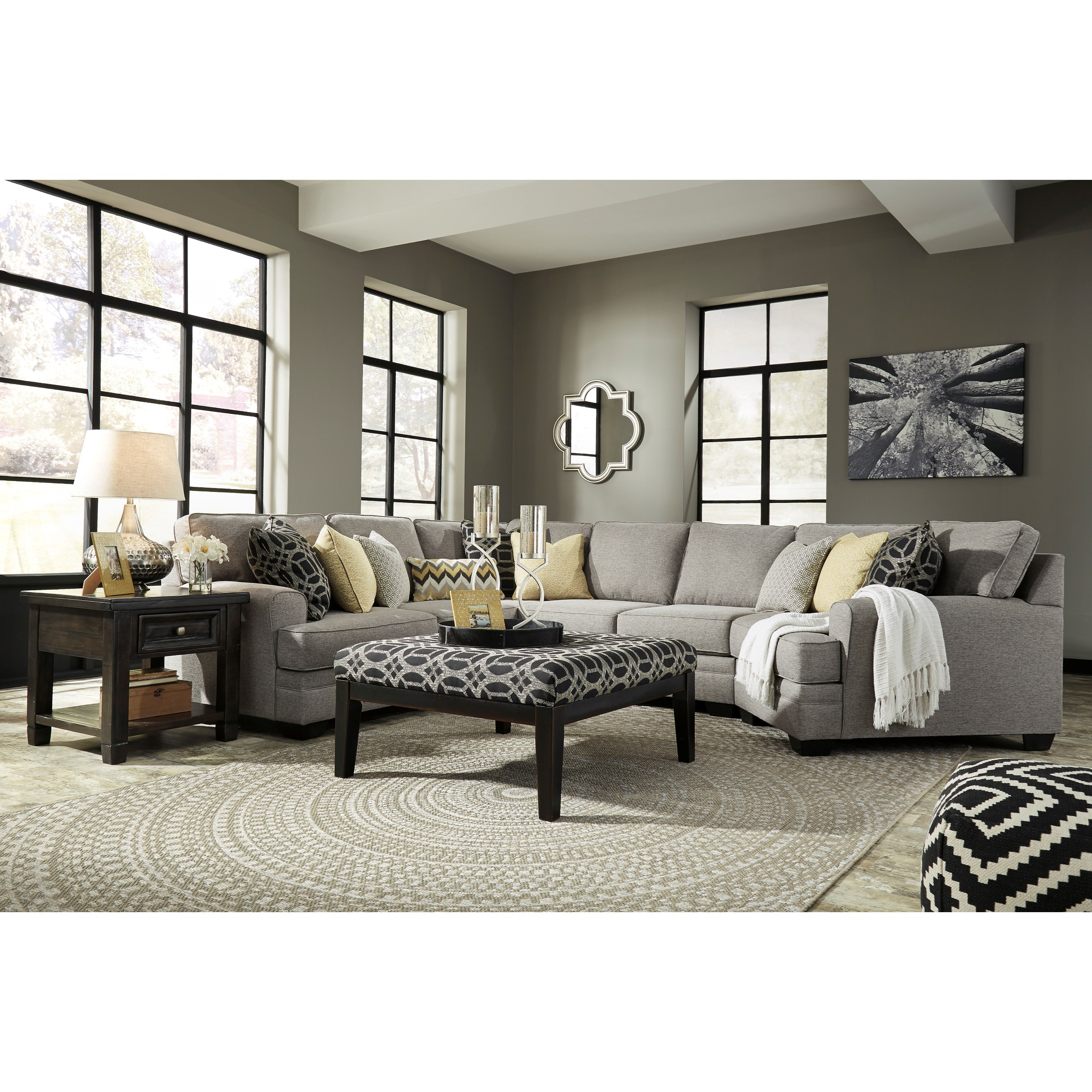 Benchcraft Cresson Stationary Living Room Group - Item Number: 54907 Living Room Group 15