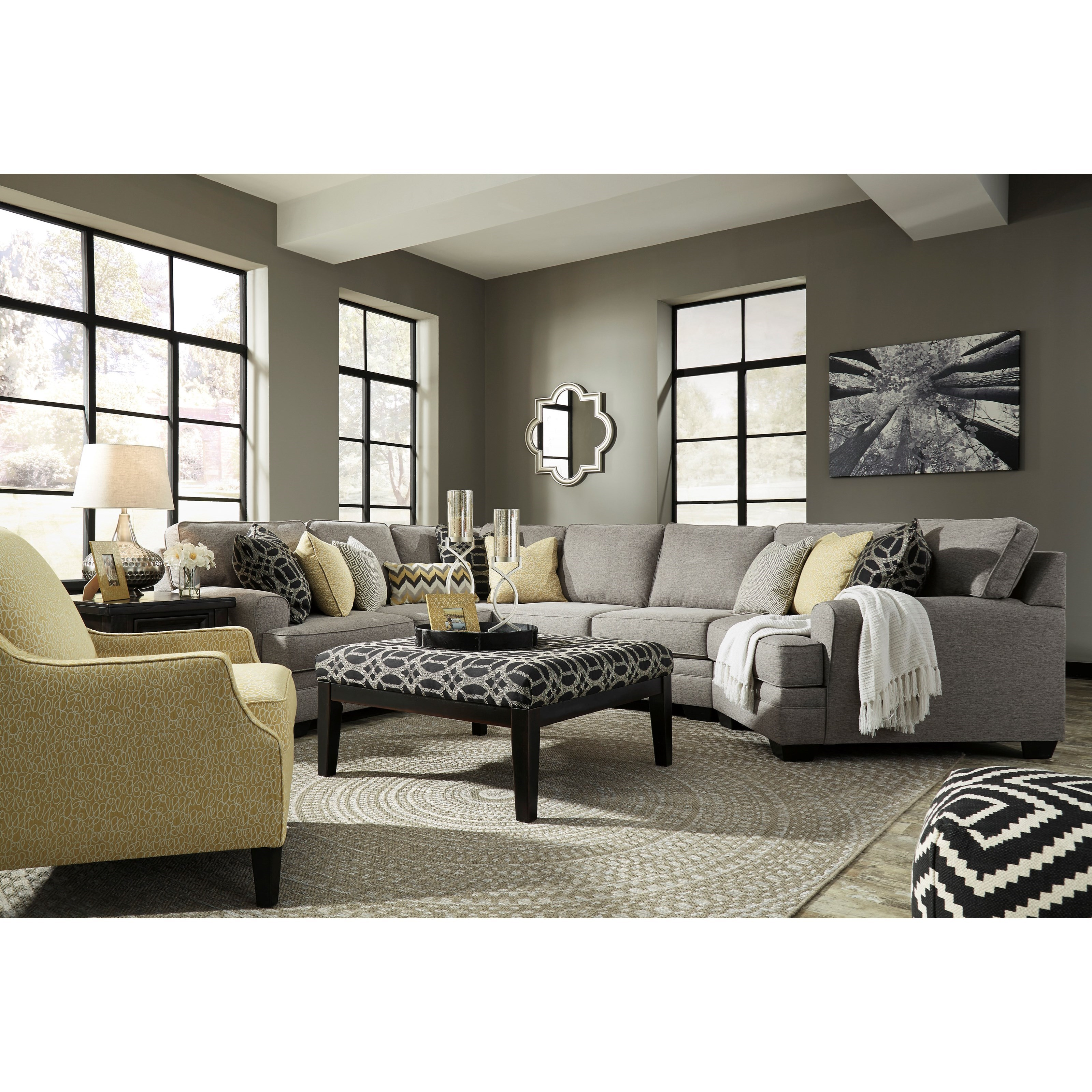 Benchcraft Cresson Stationary Living Room Group - Item Number: 54907 Living Room Group 16