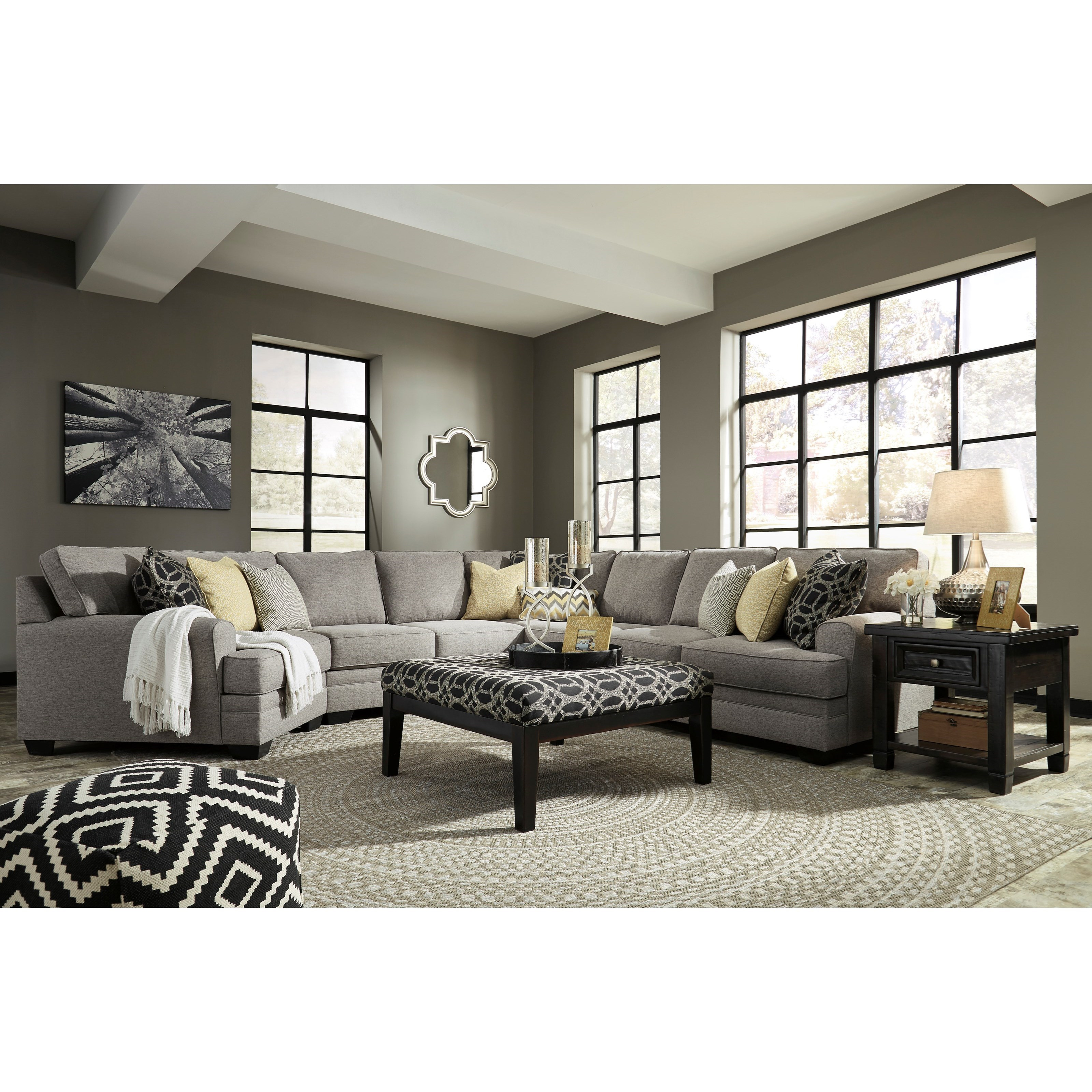 Benchcraft Cresson Stationary Living Room Group - Item Number: 54907 Living Room Group 17