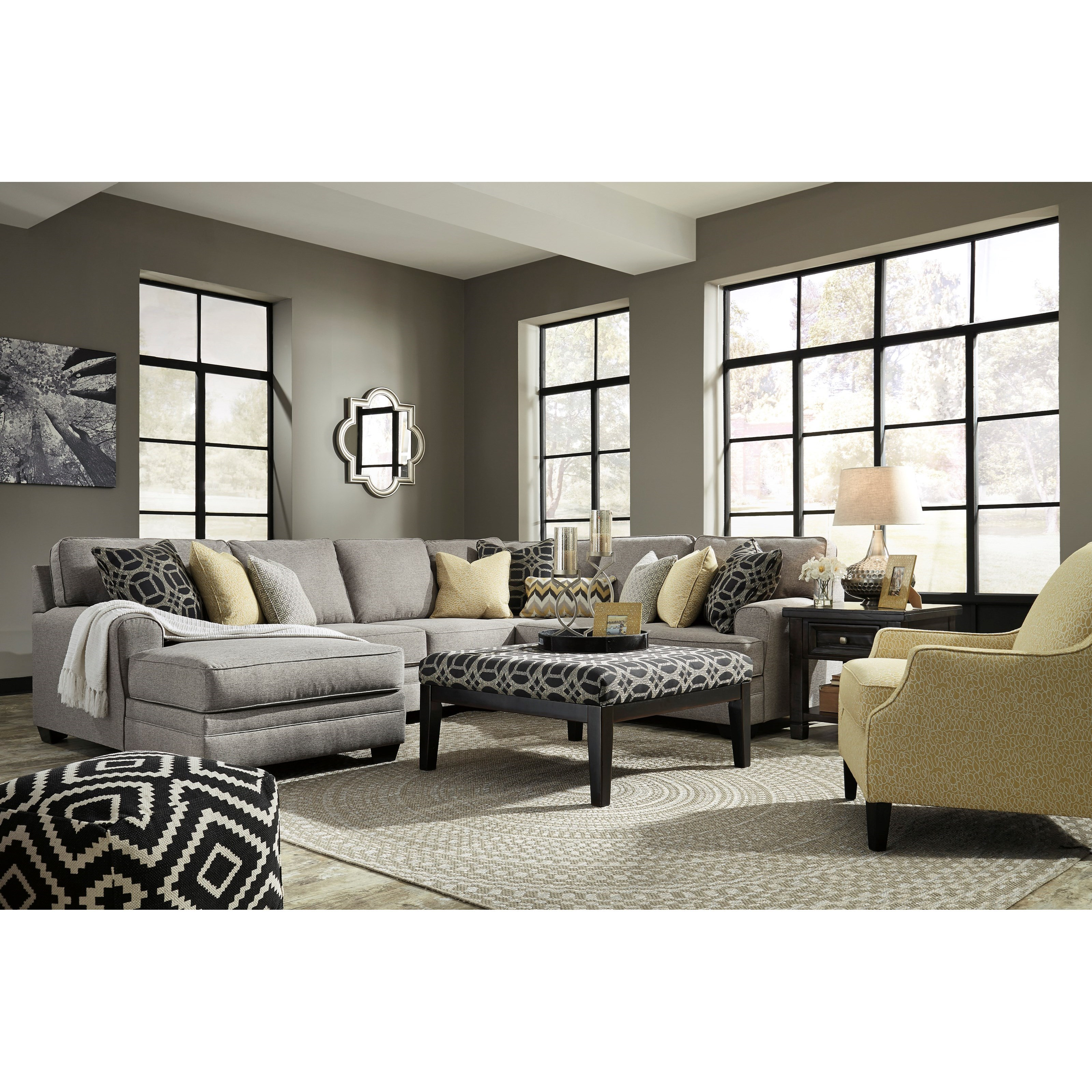 Benchcraft Cresson Stationary Living Room Group - Item Number: 54907 Living Room Group 2