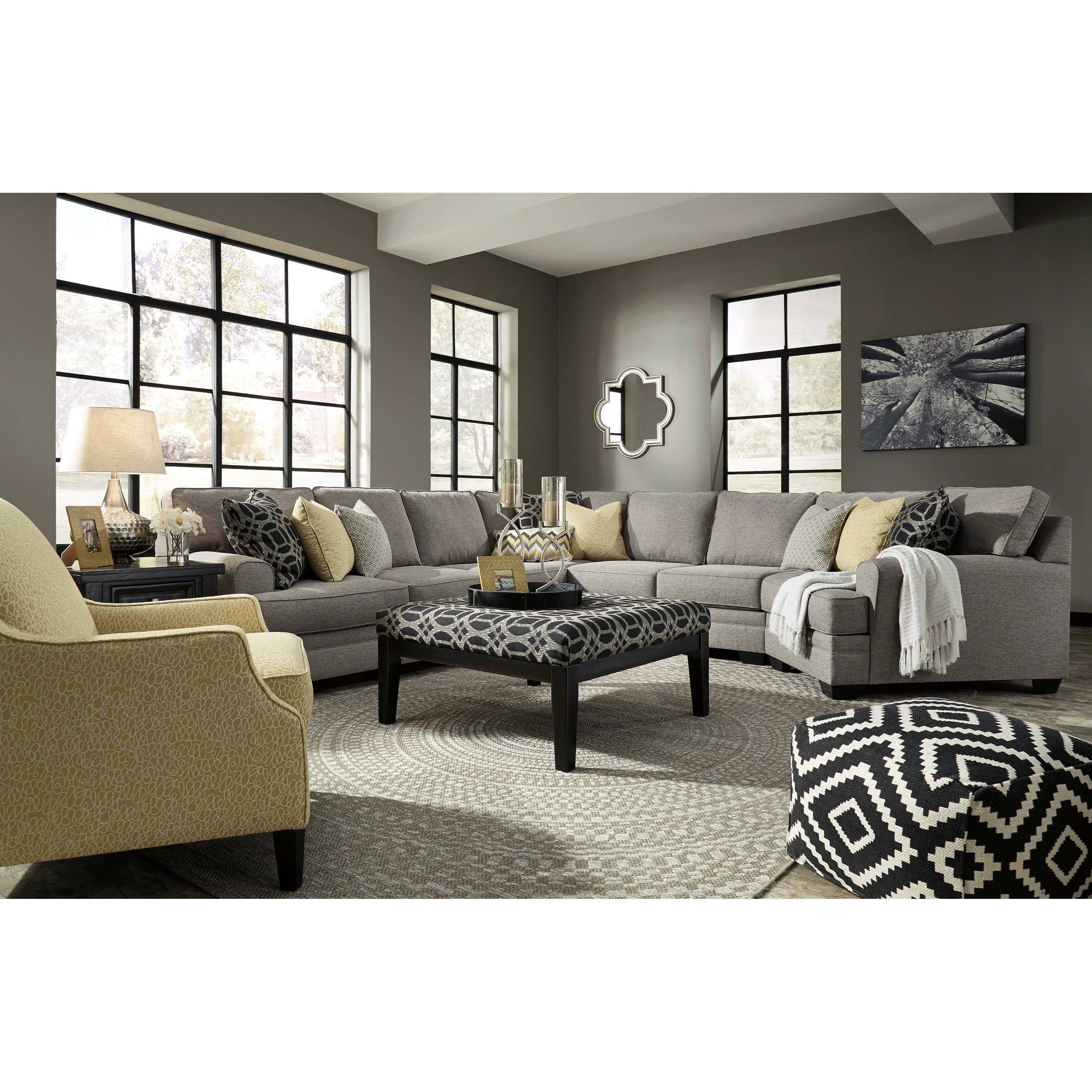 Benchcraft Cresson Stationary Living Room Group - Item Number: 54907 Living Room Group 20
