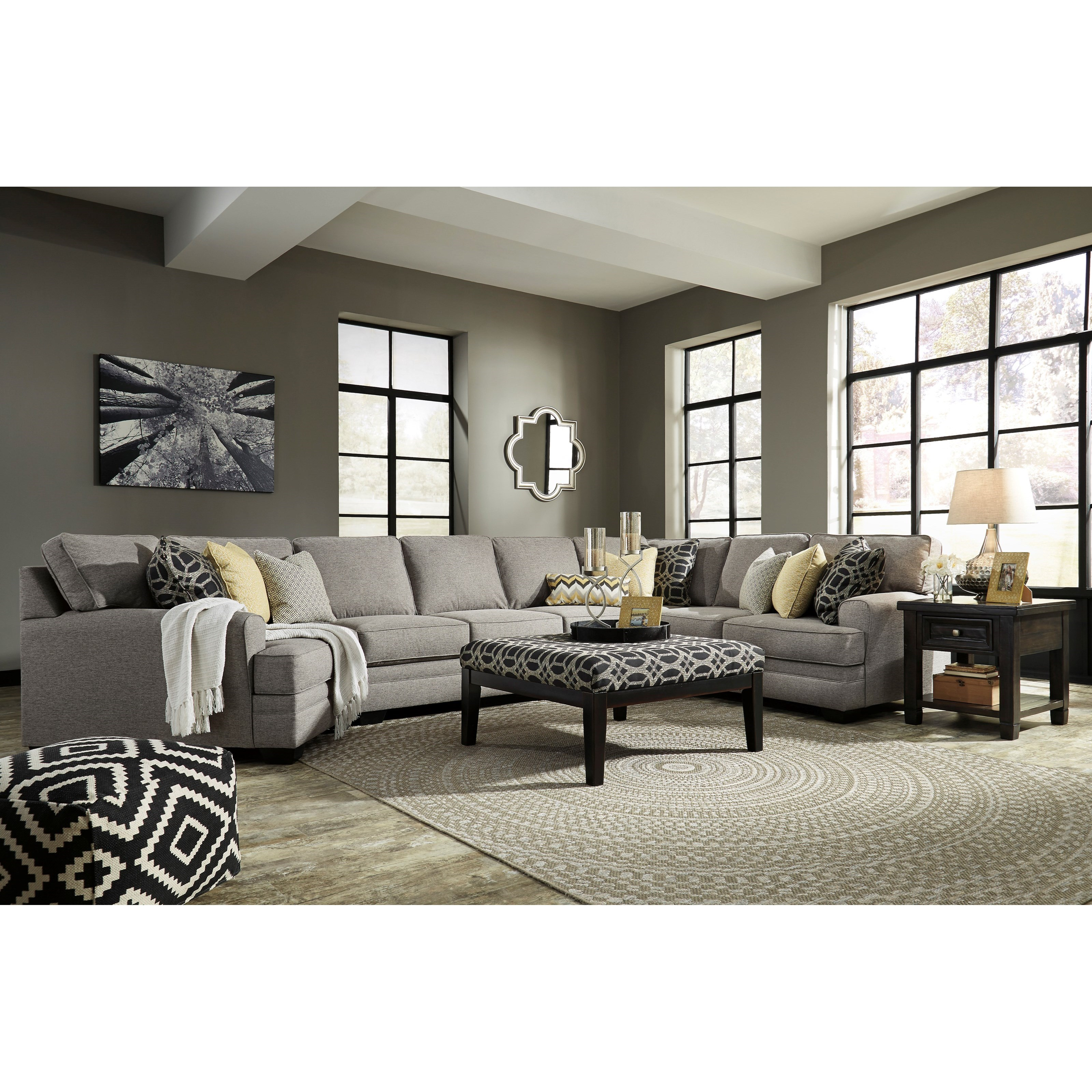 Benchcraft Cresson Stationary Living Room Group - Item Number: 54907 Living Room Group 21