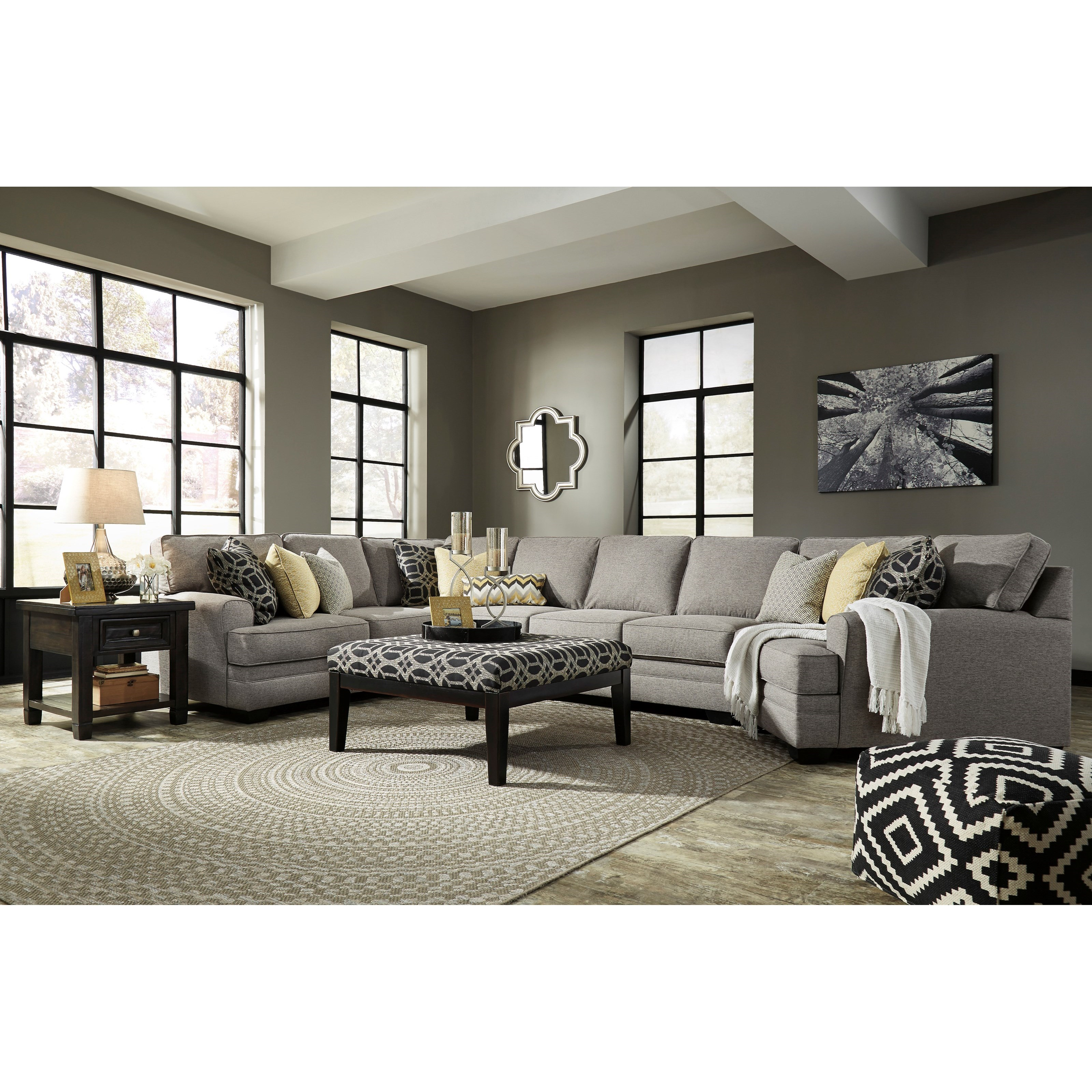 Benchcraft Cresson Stationary Living Room Group - Item Number: 54907 Living Room Group 23