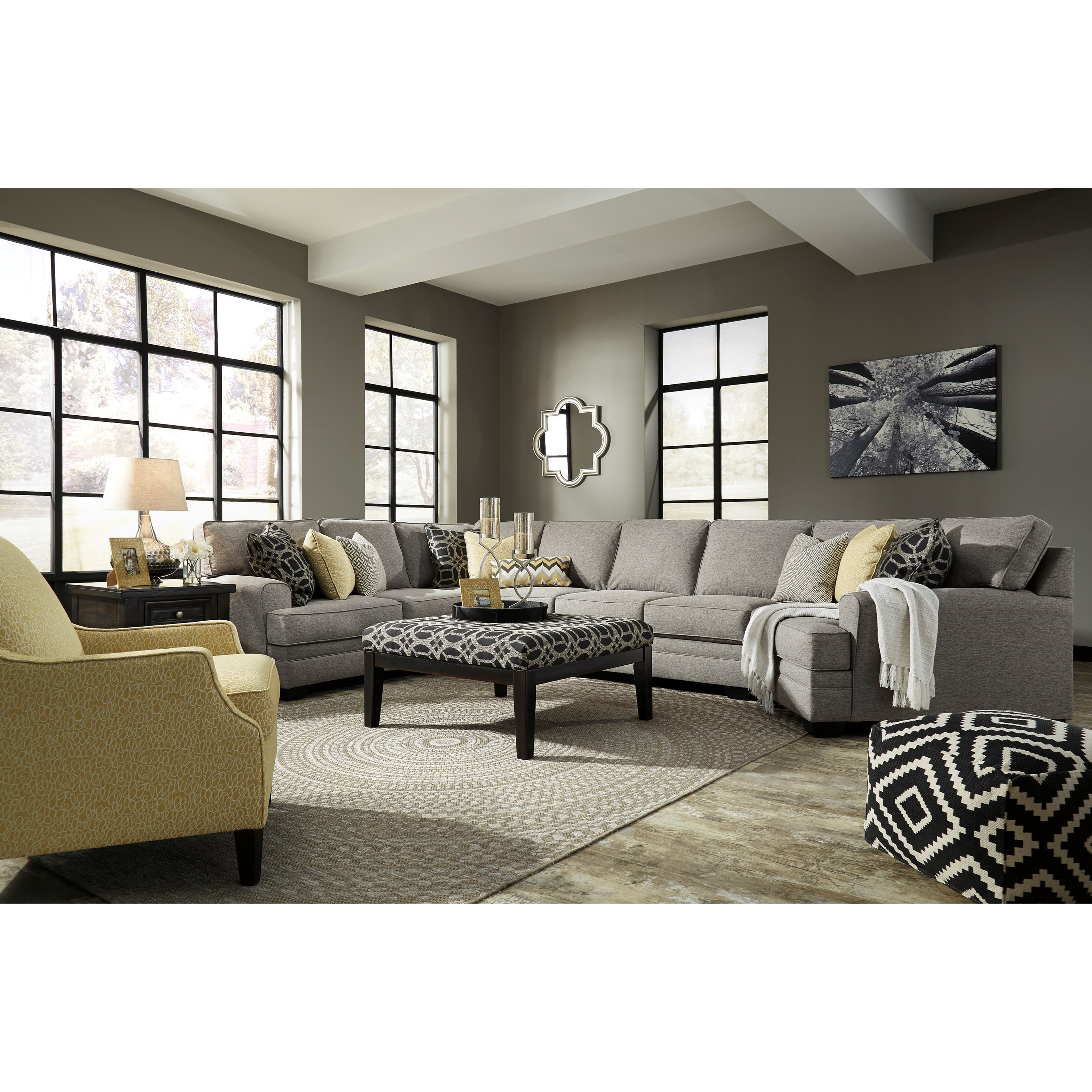 Benchcraft Cresson Stationary Living Room Group - Item Number: 54907 Living Room Group 24