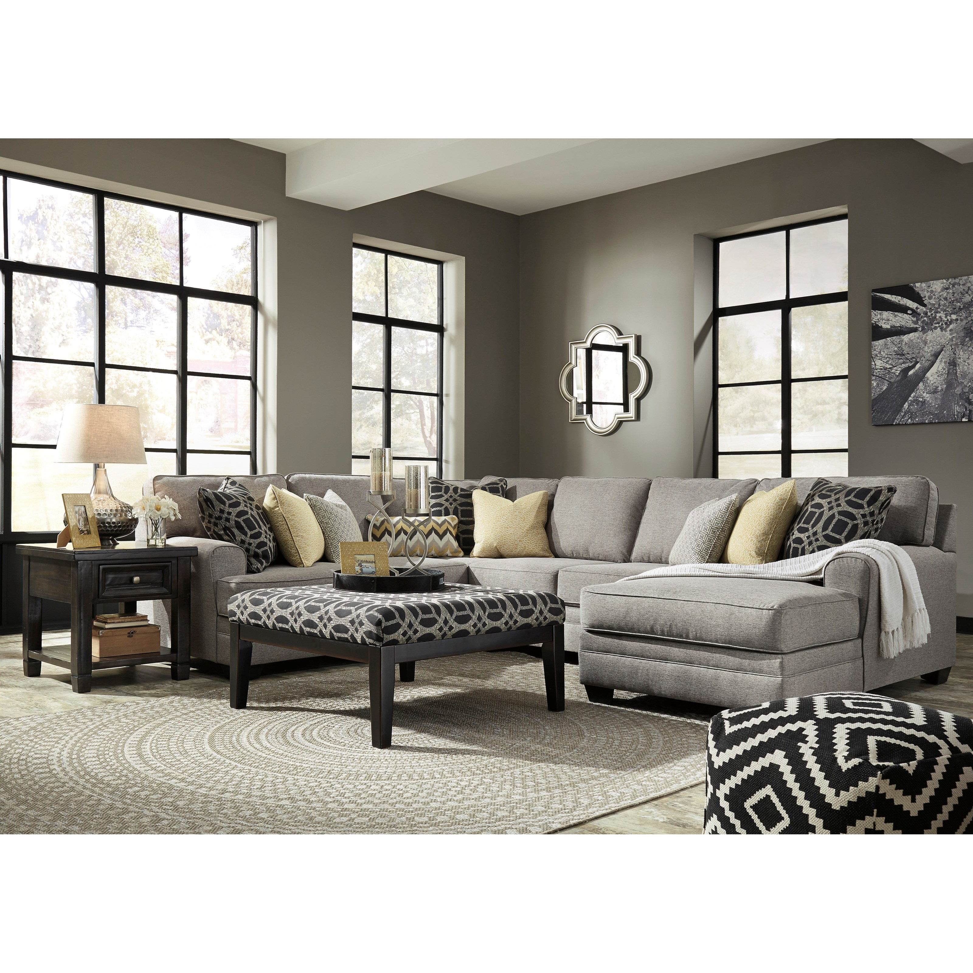 Benchcraft Cresson Stationary Living Room Group - Item Number: 54907 Living Room Group 3