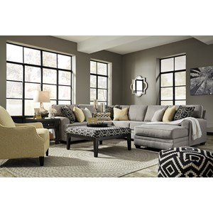 Ashley Cresson Stationary Living Room Group