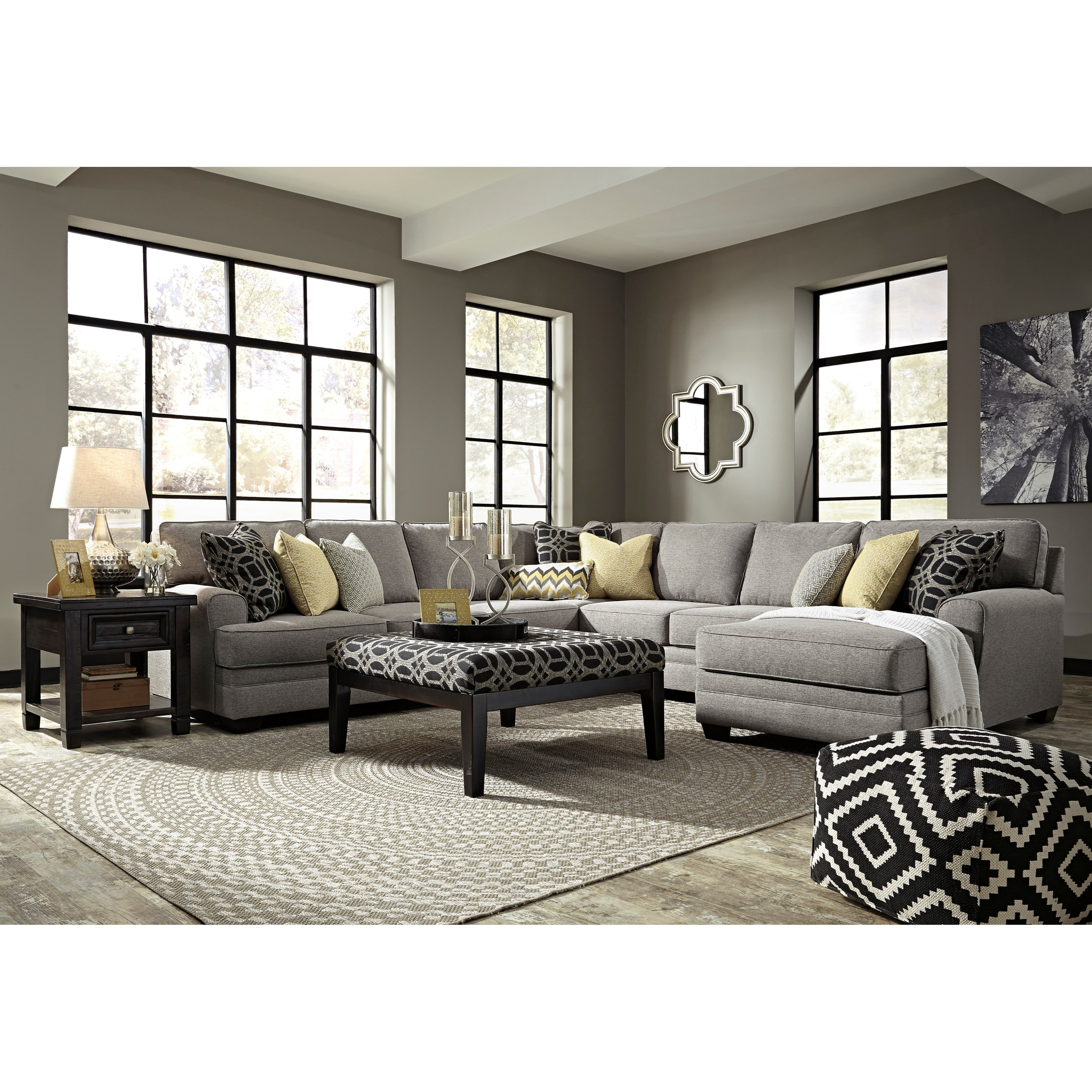 Benchcraft Cresson Stationary Living Room Group - Item Number: 54907 Living Room Group 7