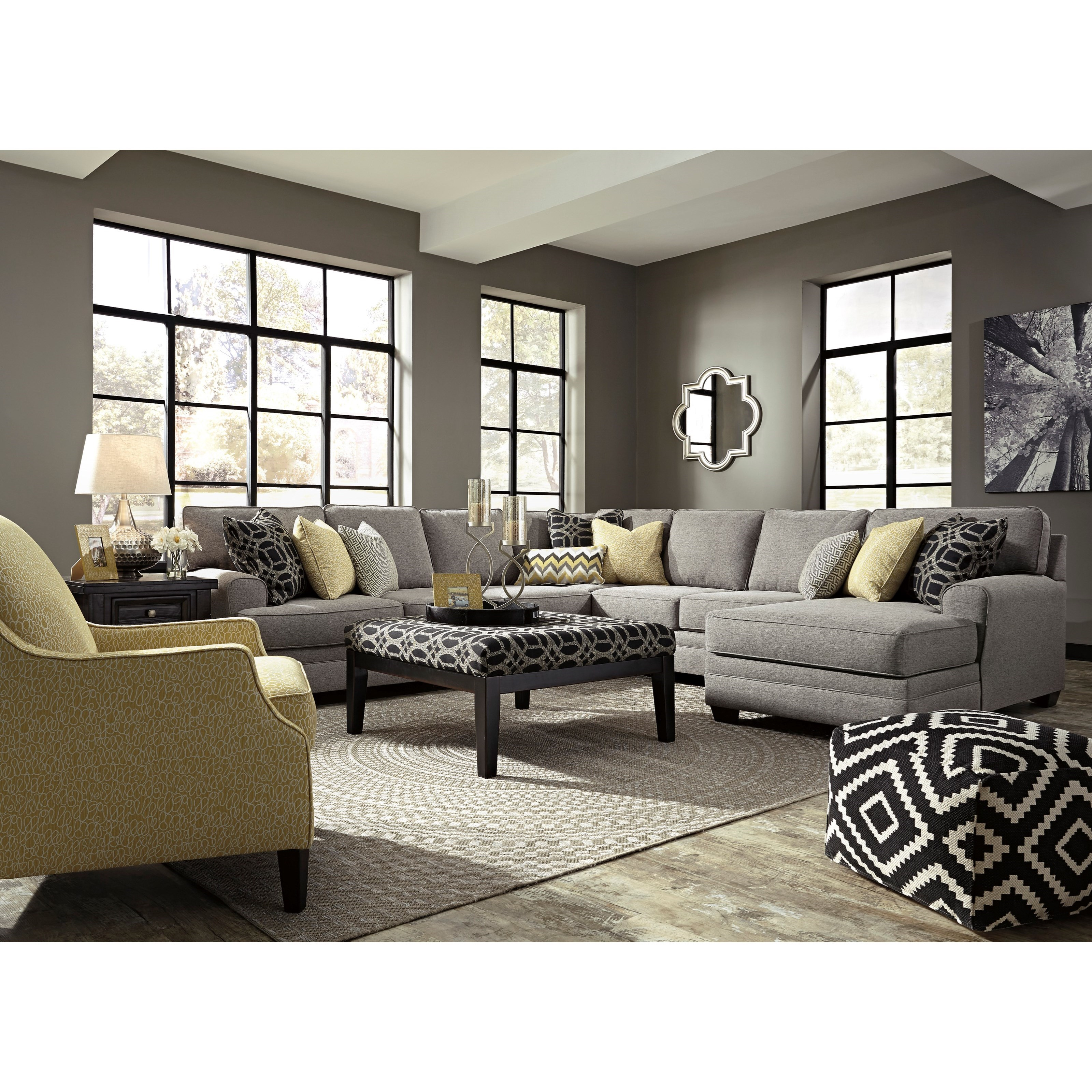 Benchcraft Cresson Stationary Living Room Group - Item Number: 54907 Living Room Group 8