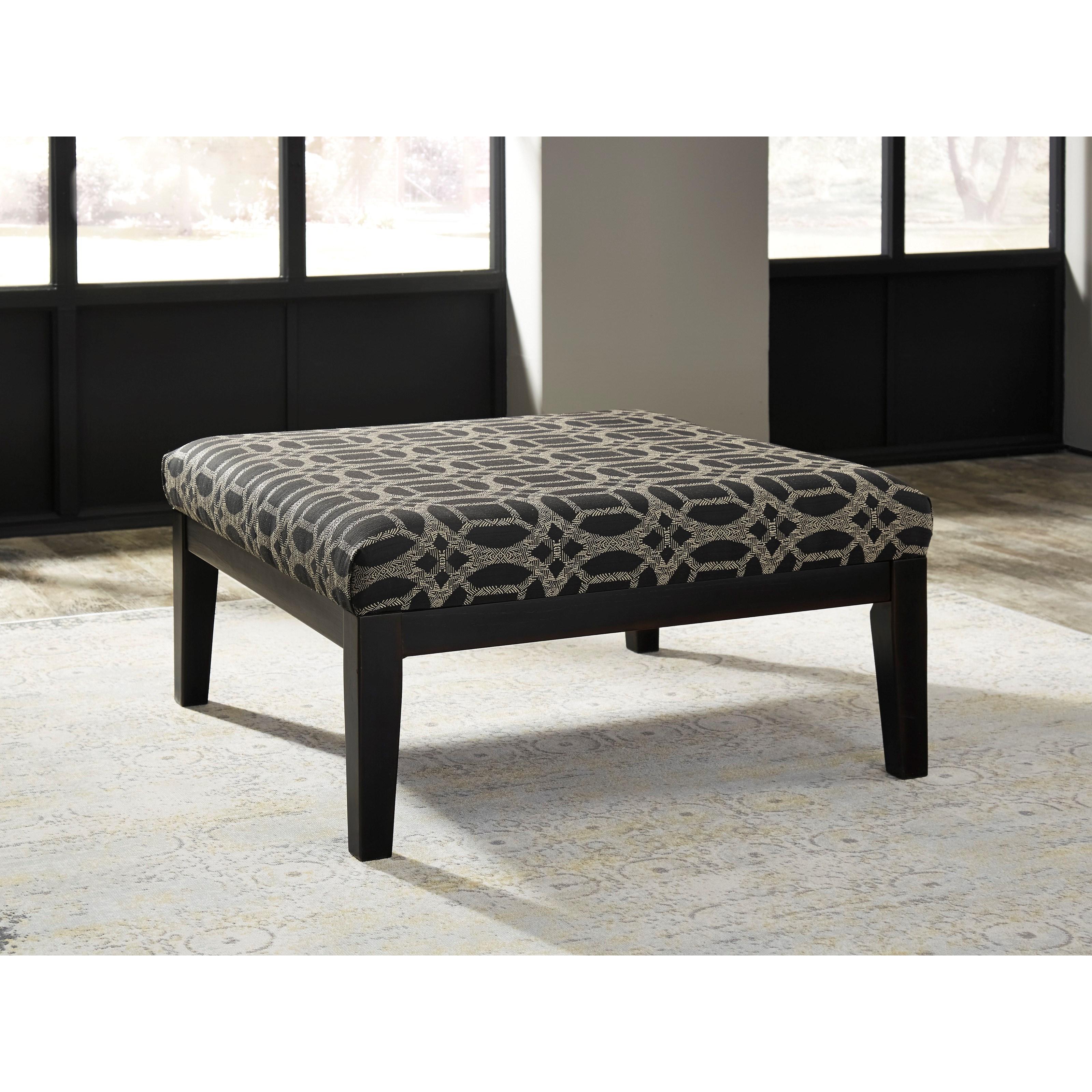 Benchcraft Cresson 5490708 Oversized Accent Ottoman John V Schultz Furniture Ottomans