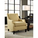 Benchcraft Cresson Contemporary Accent Chair with Track Arms