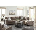 Benchcraft by Ashley Dalhart Living Room Group - Item Number: 85704 Living Room Group 4