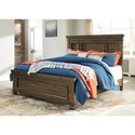 Benchcraft Darloni Transitional Queen Panel Bed