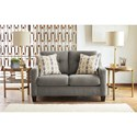 Benchcraft Daylon Contemporary Loveseat with Tufted Back