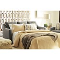 Benchcraft Daylon Contemporary Queen Sofa Sleeper with Tufted Back
