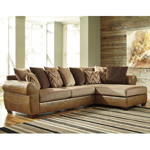 Benchcraft Declain 2-Piece Sectional with Right Chaise