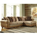 Benchcraft Declain 2-Piece Sectional with Right Chaise - Item Number: 8630266+17