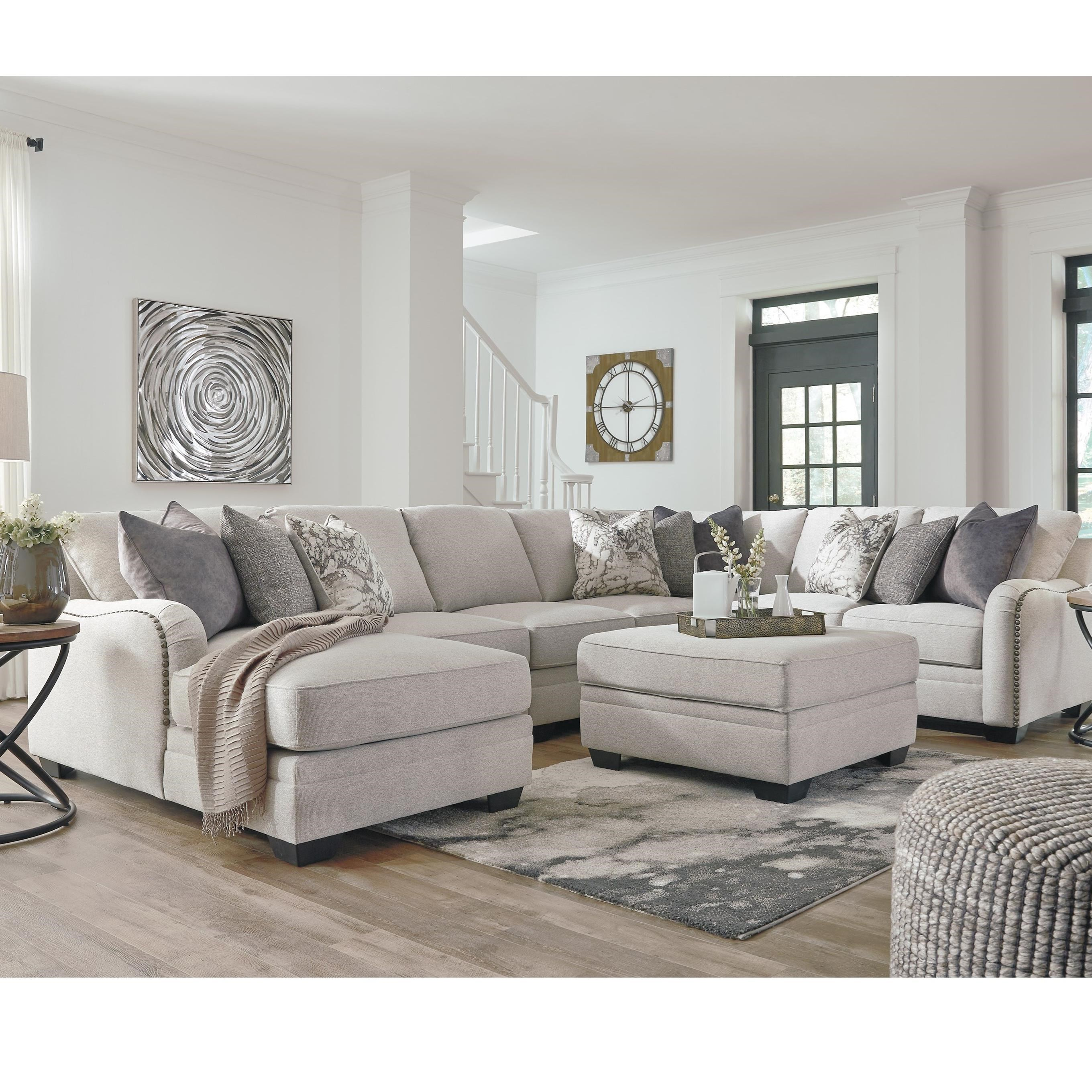 Benchcraft Dellara Casual 5-Piece Sectional With Left
