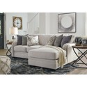 Benchcraft Dellara 2-Piece Sectional - Item Number: 3210155+17