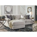 Benchcraft Dellara 2-Piece Sectional - Item Number: 3210156+16