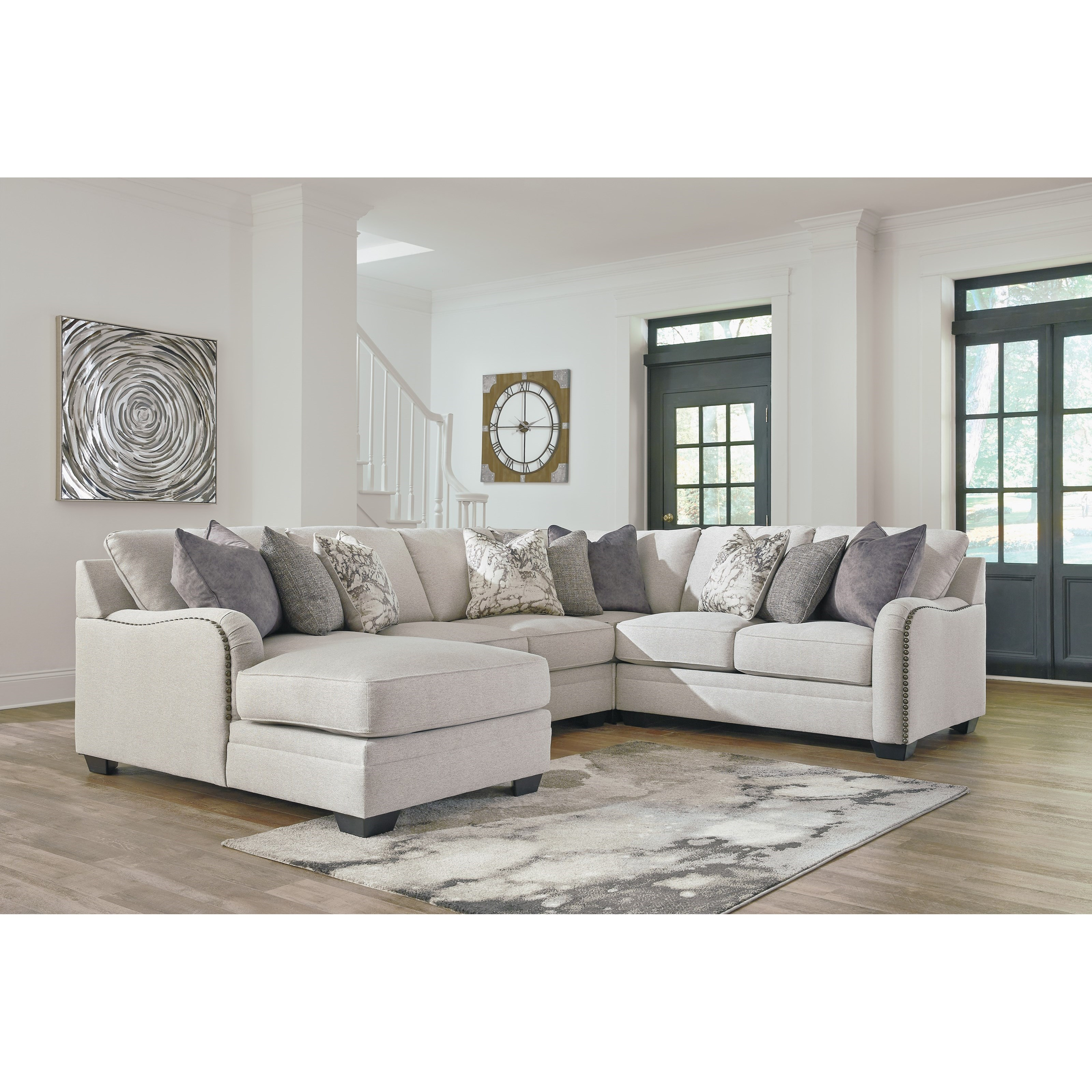 Dellara 4-Piece Sectional by Benchcraft at Beck's Furniture