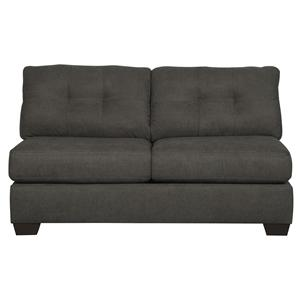 Ashley/Benchcraft Delta City - Steel Armless Loveseat
