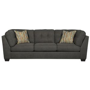 Benchcraft Delta City - Steel Sofa