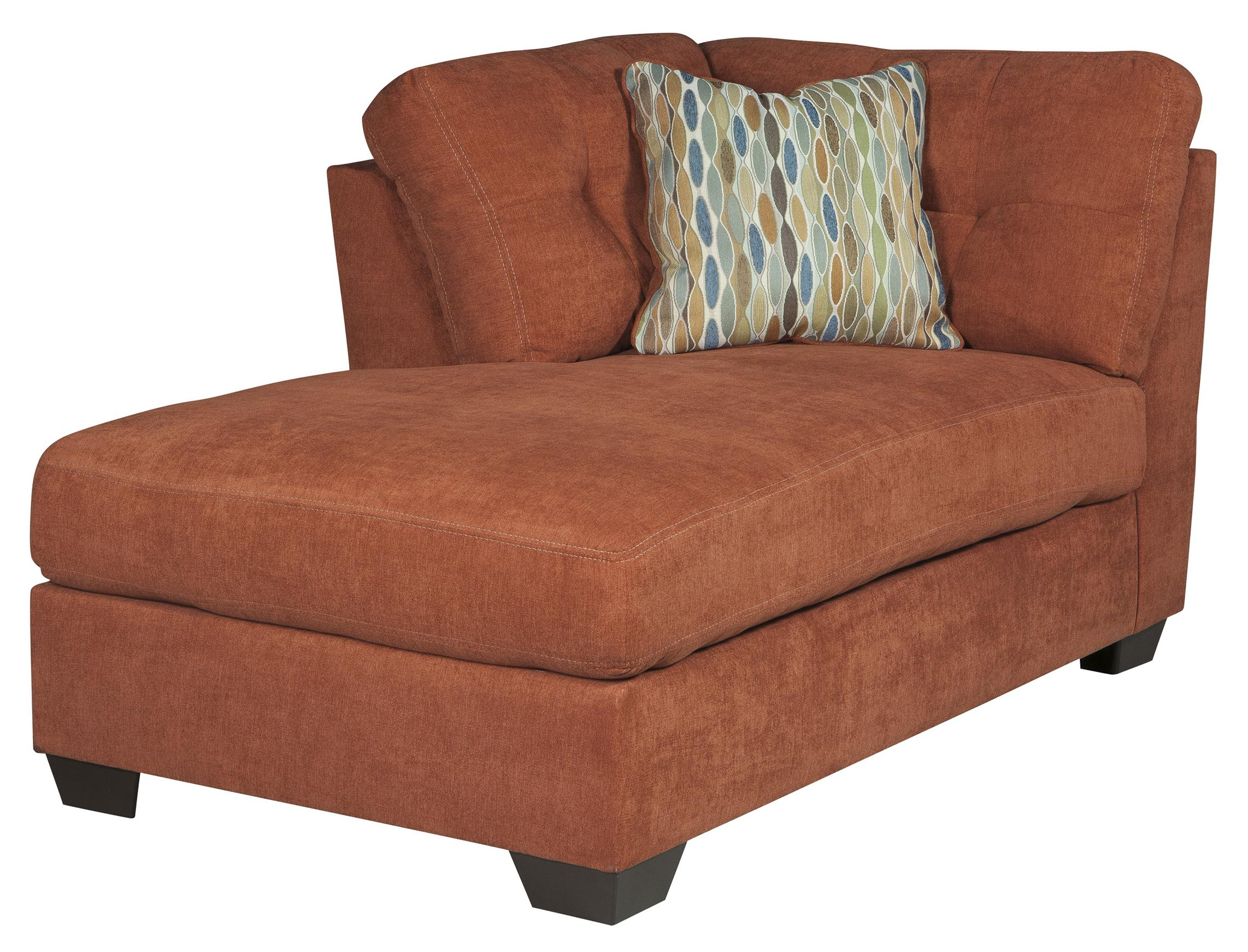 Benchcraft Delta City - Rust LAF Corner Chaise - Item Number: 1970116