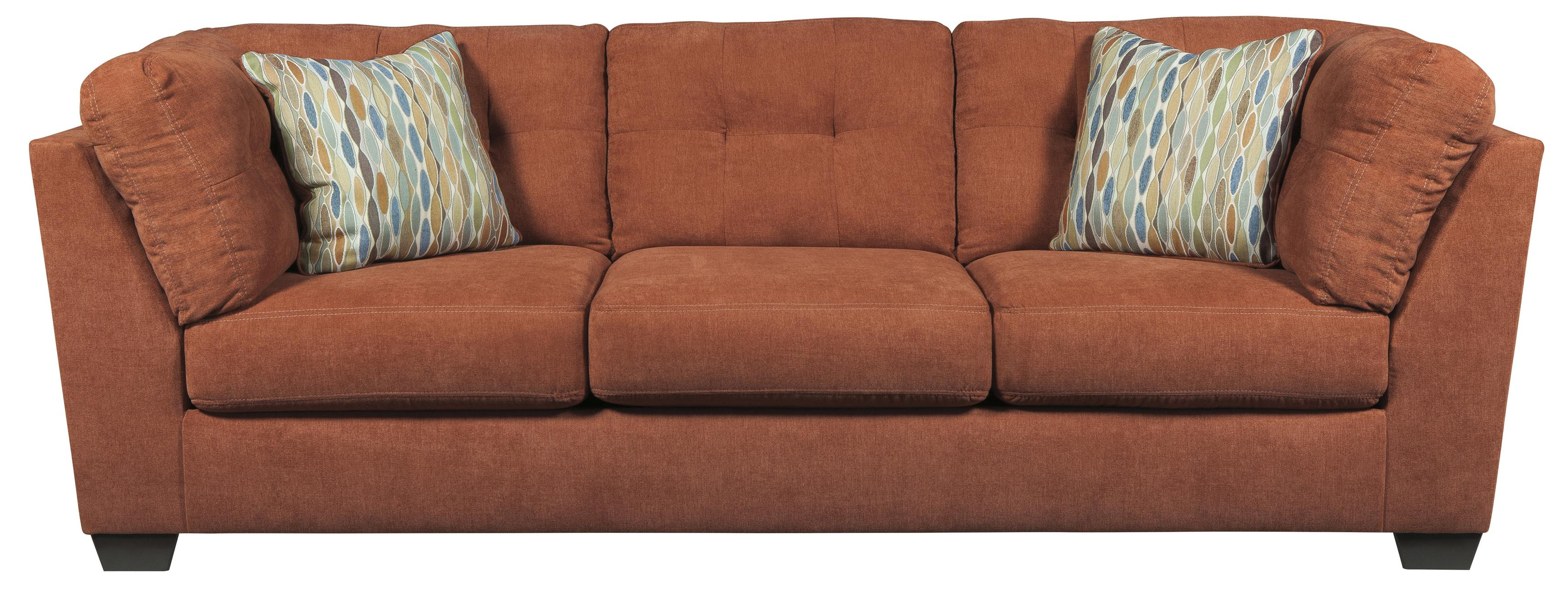 Ashley/Benchcraft Delta City - Rust Sofa - Item Number: 1970138