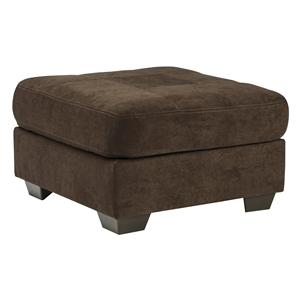 Benchcraft Delta City - Chocolate Oversized Accent Ottoman