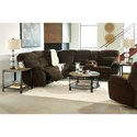 Benchcraft Demarion Reclining Living Room Group - Item Number: 52303 Living Room Group 1