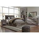 Benchcraft Derekson Queen Bedroom Group - Item Number: B200 Q Bedroom Group 3