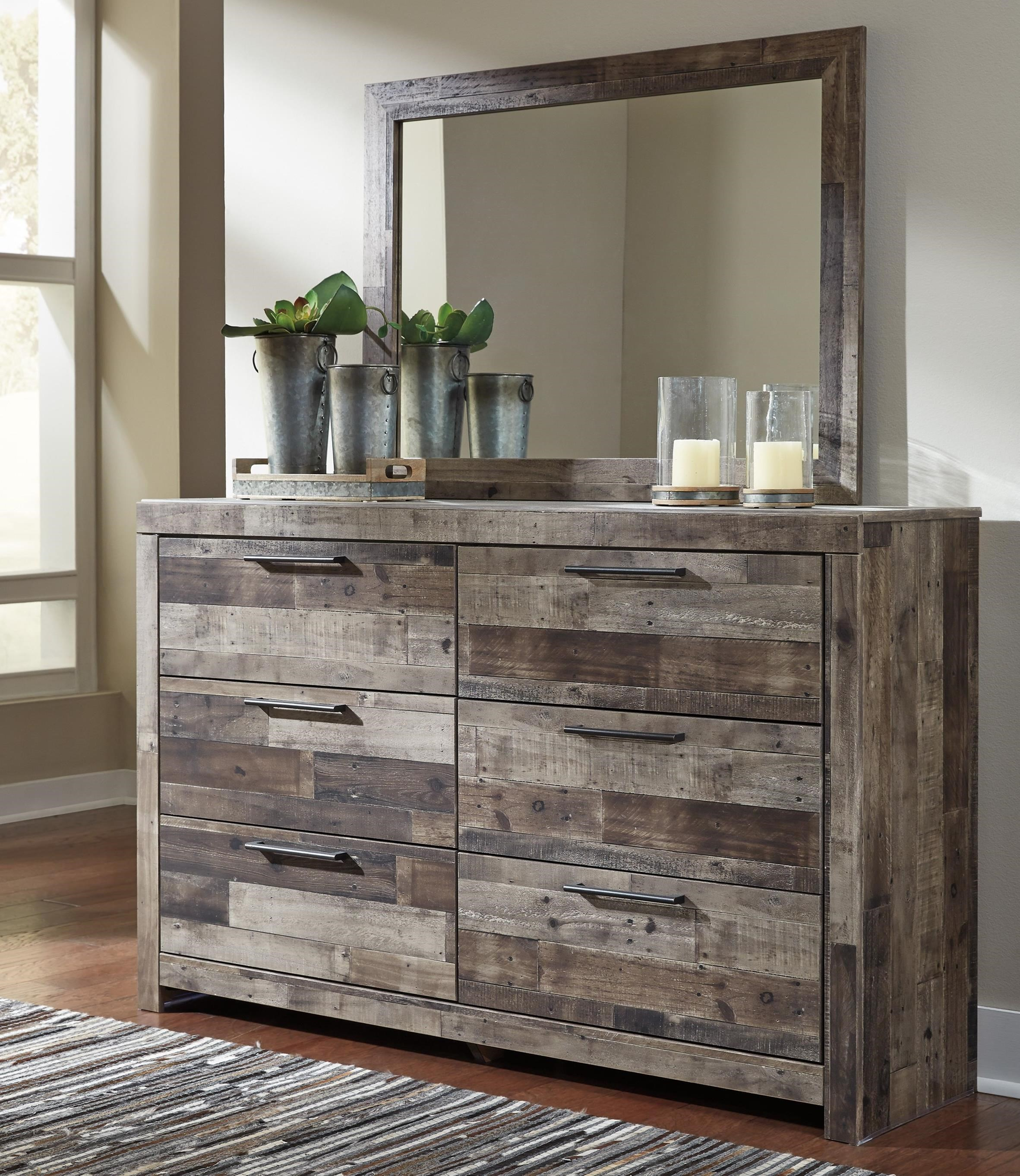 Benchcraft By Ashley Derekson Rustic Modern Dresser
