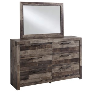 Benchcraft Derekson Dresser & Bedroom Mirror