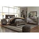 Benchcraft Derekson Rustic Modern Dresser & Bedroom Mirror