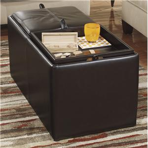 Benchcraft Deshan Accents Ottoman With Storage