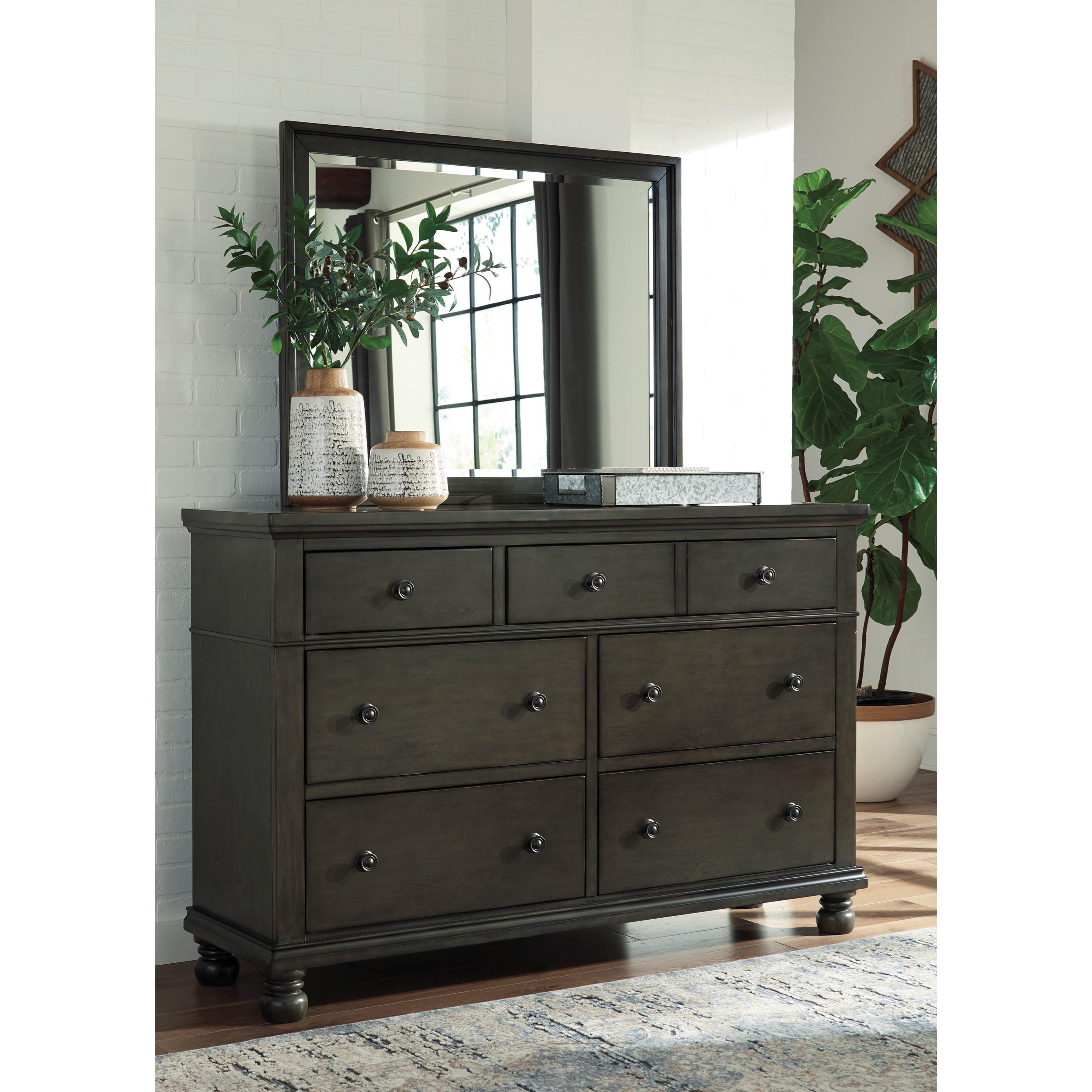 Benchcraft Devensted Transitional Seven Drawer Dresser