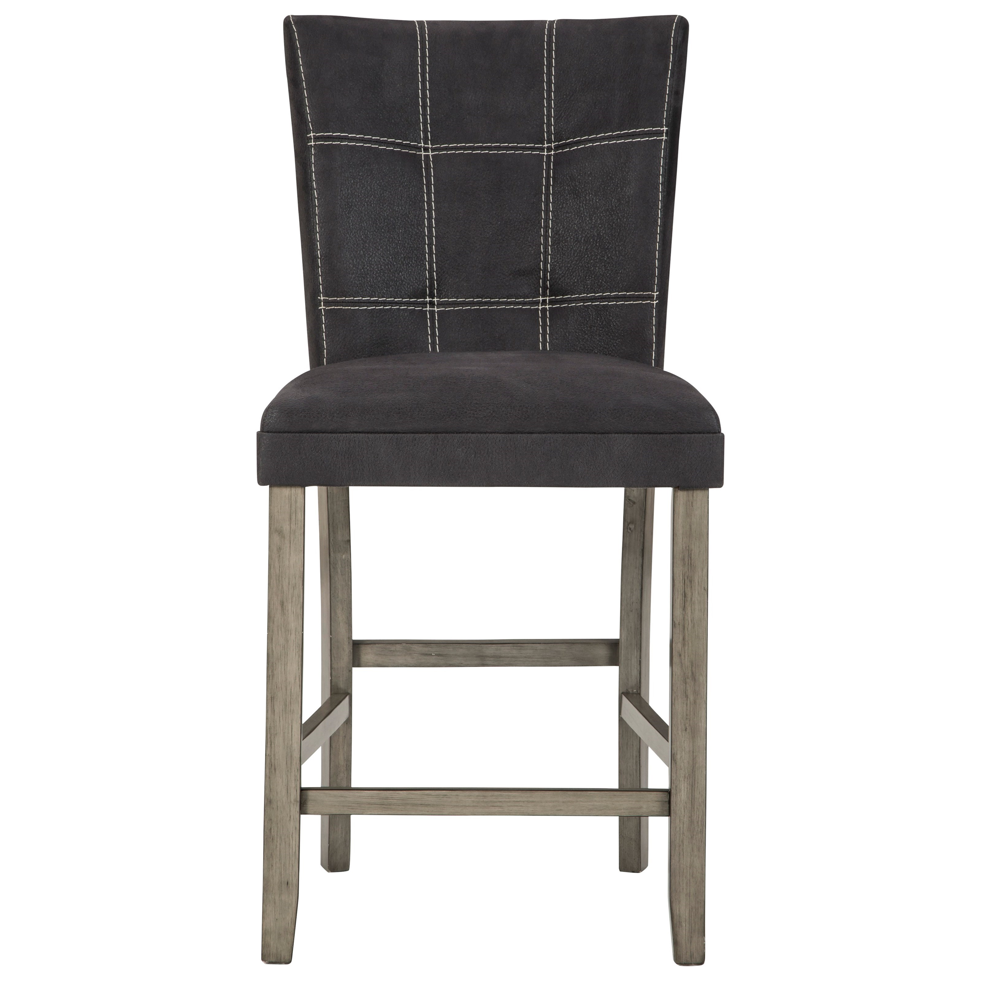 Dontally Upholstered Barstool by Benchcraft at Walker's Furniture
