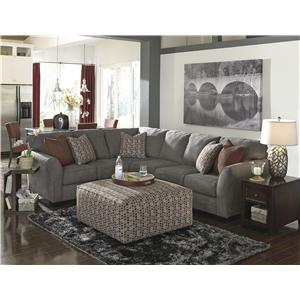 Benchcraft Doralin - Steel Stationary Living Room Group