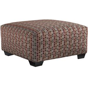 Benchcraft Doralin - Steel Contemporary Oversized Accent Ottoman