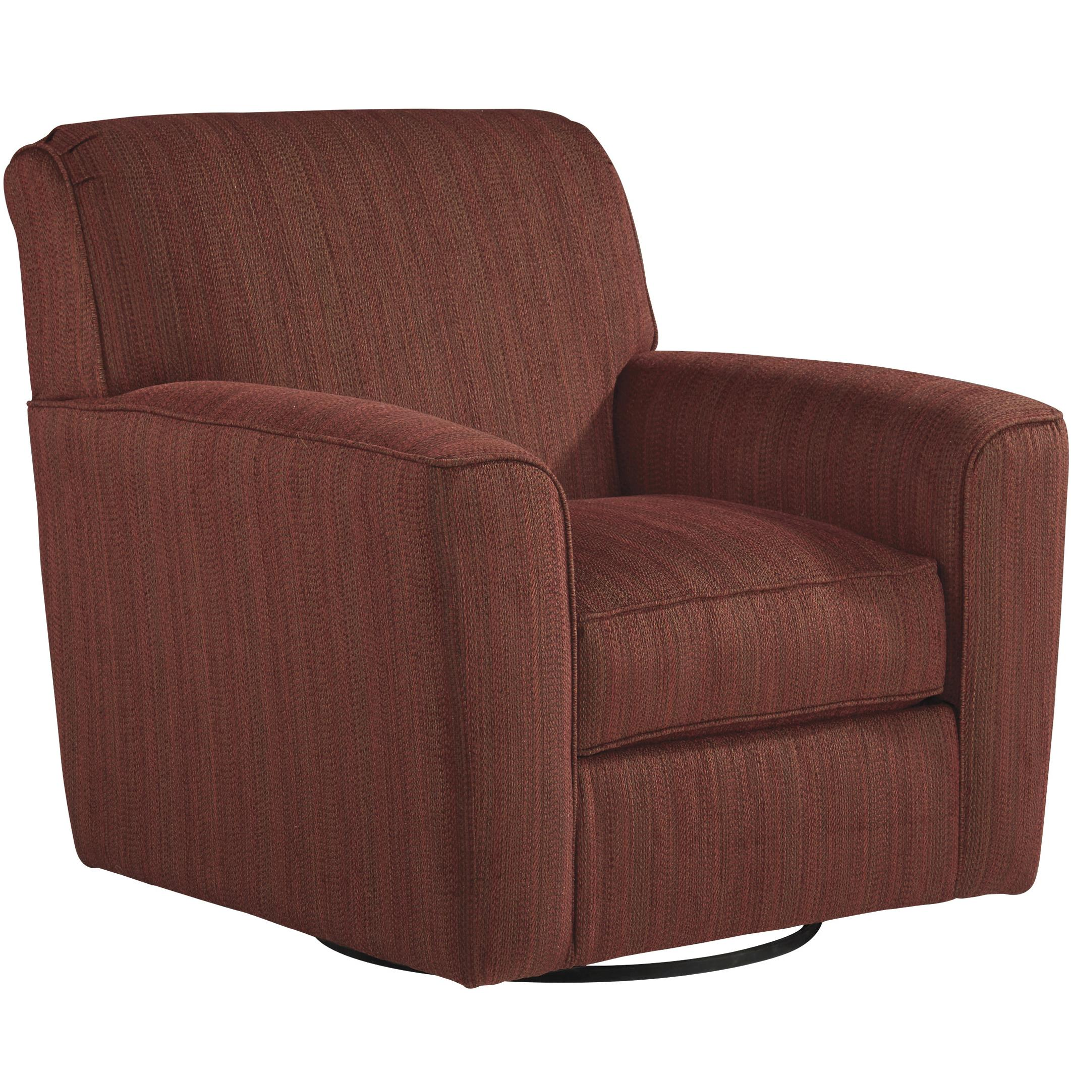 Benchcraft Doralin - Steel Contemporary Swivel Accent Chair - Item Number: 8680044