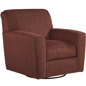 Benchcraft Doralin - Steel Contemporary Swivel Accent Chair