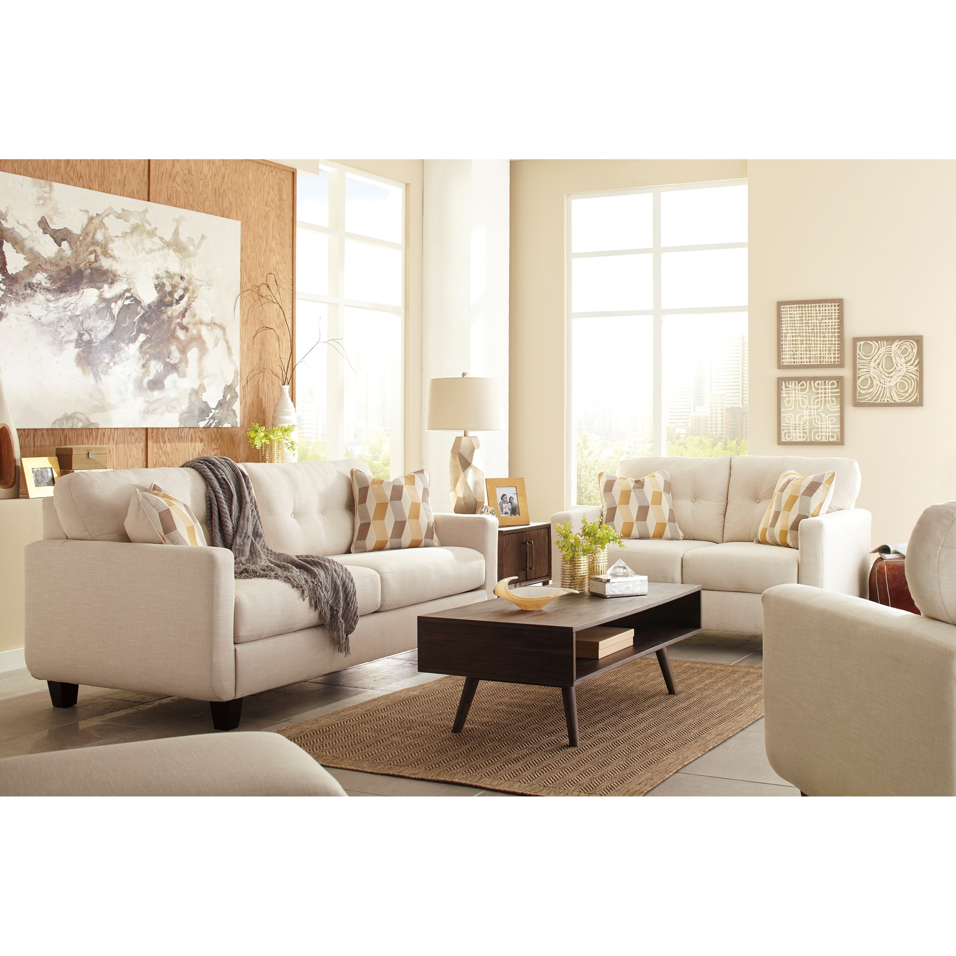 Benchcraft Drasco Stationary Living Room Group - Item Number: 59802 Living Room Group 2