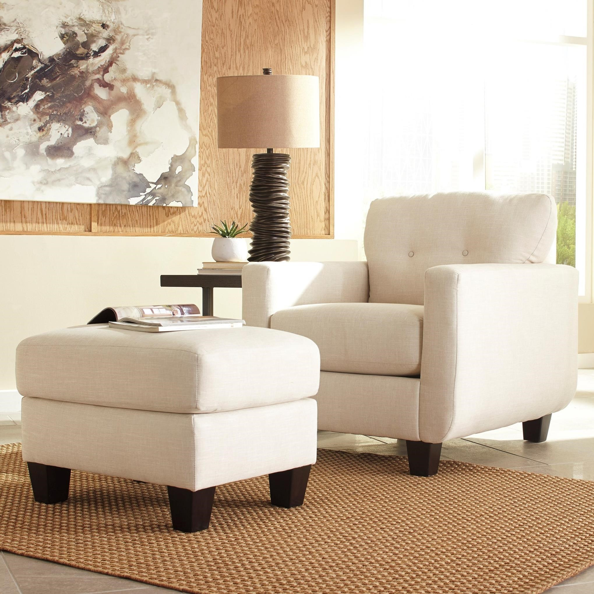 Benchcraft Drasco Chair & Ottoman - Item Number: 5980220+14